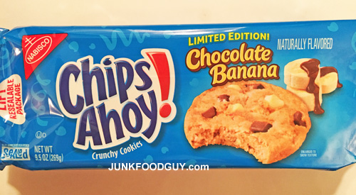 Limited Edition Chocolate Banana Crunchy Chips Ahoy! : The Money Shot