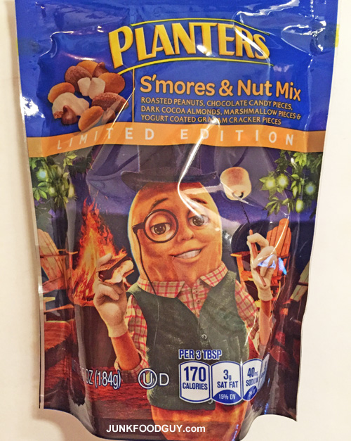 Limited Edition Planters S'mores & Nut Mix: The Money Shot