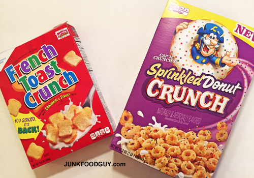 French Toast Crunch vs. Sprinkled Donut Crunch