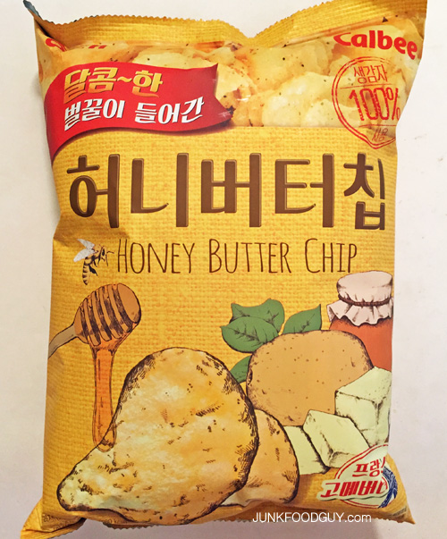 Calbee Honey Butter Chips: The Money Shot