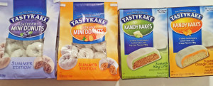 Review (x4): TastyKake Blueberry Mini Donuts, Orange Mini Donuts, Key Lime Kandy Kakes, Orange Creme Kandy Kakes (Summer Edition) & Things I Think About On The Subway Every Morning