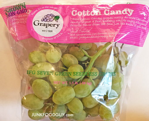 Grapery Cotton Candy Grapes: The Money Shot