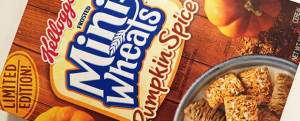 Review: Limited Edition Kellogg's Pumpkin Spice Frosted Mini Wheats, Nosh Show Ep. 61: Anything But Oreo, & HOLY CRAP FOOTBALL IS BACK
