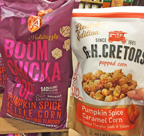 Limited Edition G.H. Cretors Pumpkin Spice Caramel Corn