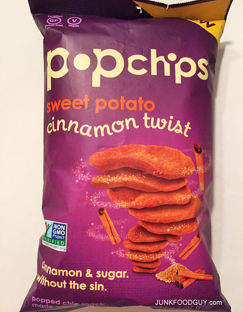New Cinnamon Twist Sweet Potato Pop Chips: The Money Shot