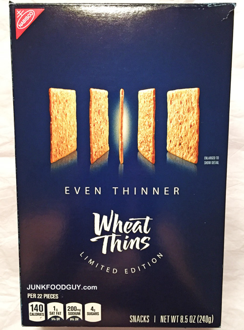 Limited Edition Even Thinner Wheat Thins: The Money Shot