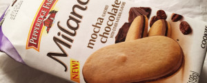 Review: New Pepperidge Farm Mocha Chocolate Milano Cookies & New Year, New Foods?