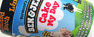 MICRO-REVIEW: Limited Edition Ben & Jerry's Cake My Day Ice Cream