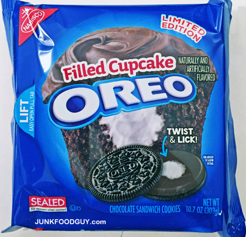 Limited Edition Filled Cupcake Oreo: The Money Shot