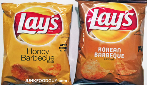 Lay's Korean Barbeque Potato Chips