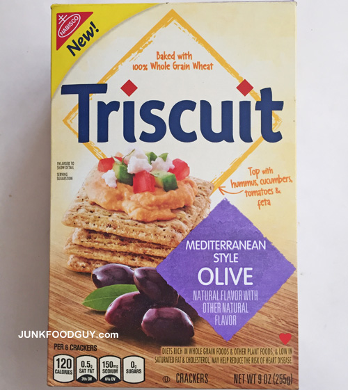Review: New Mediterranean Style Olive Triscuit & 1500 Words about the Super Bowl