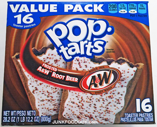 Frosted A&W Root Beer Pop-Tarts: The Money Shot