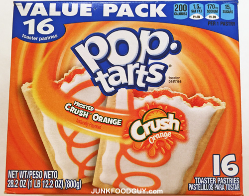Frosted Orange Crush Pop-Tarts: The Money Shot