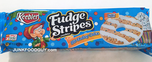 Limited Batch Birthday Cake Keebler Fudge Stripes The Money Shot