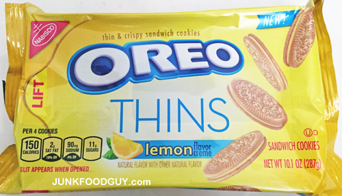 New Lemon Oreo Thins: The Money Shot