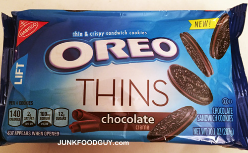 New Chocolate Oreo Thins: The Money Shot