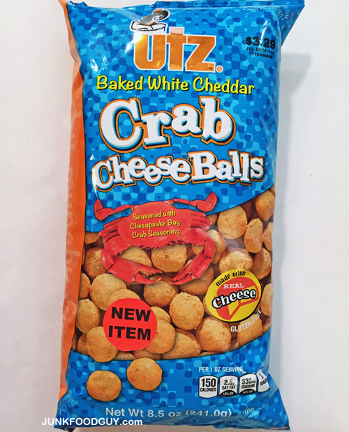 Utz White Cheddar Crab Cheese Balls