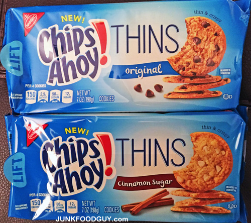 New Chips Ahoy! Thins: The Money Shot