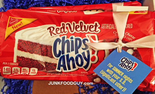 New Red Velvet Chips Ahoy!: The Money Shot