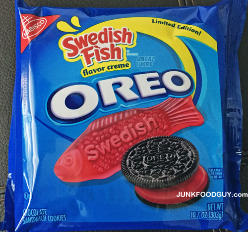 Rant limited edition swedish fish oreo junk food guy for Swedish fish shot