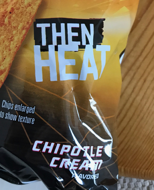 Doritos heatwave chipotle cream