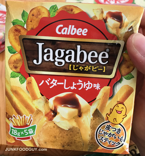 Review Calbee Jagabee Amp What Is The Storyline For These