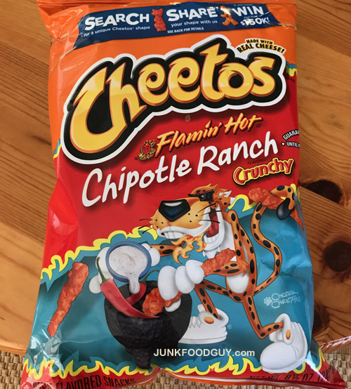 Review Flamin Hot Chipotle Ranch Cheetos Amp Open Lines