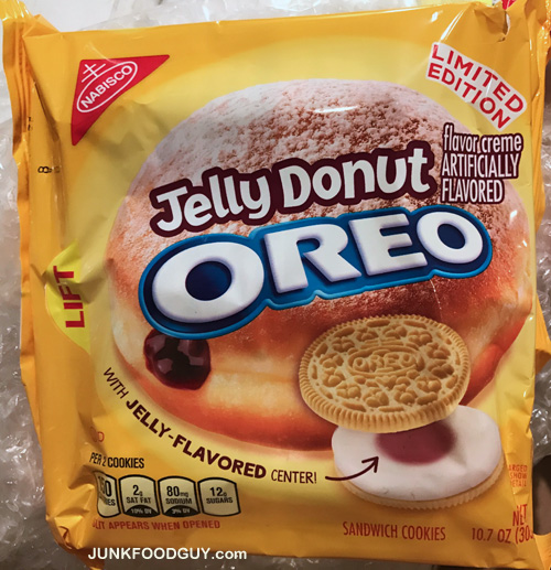 My Friends At Walmart Sent Me These Jelly Donut Oreos I Know Im A Week Late On This Release Couldve Just Driven To And Purchased